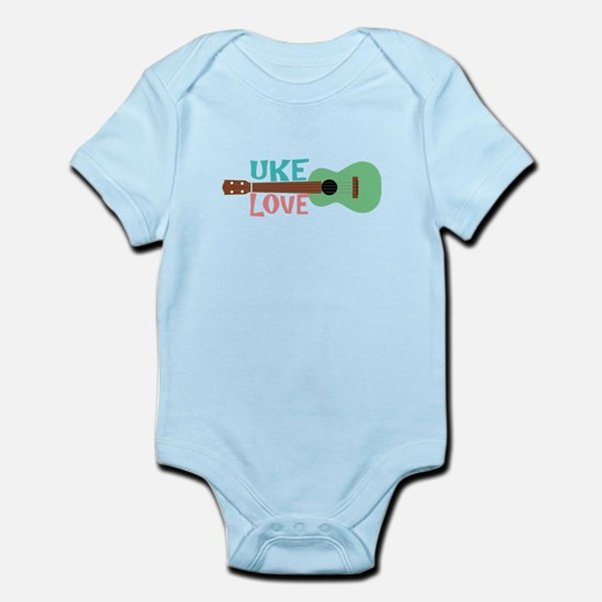 Uke Love Infant Bodysuit