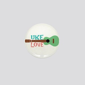 Uke Love Mini Button