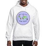 We Live in a Book World Hooded Sweatshirt