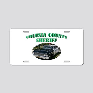 Volusia County Sheriff Aluminum License Plate