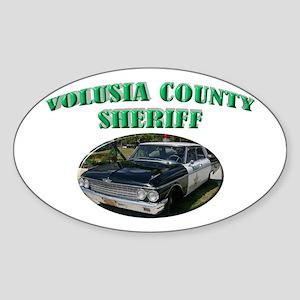 Volusia County Sheriff Sticker (Oval)