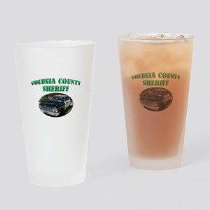 Volusia County Sheriff Drinking Glass