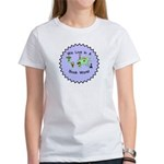 We Live in a Book World Women's T-Shirt