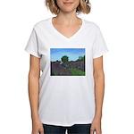 Lavender Days Women's V-Neck T-Shirt