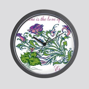 TheEulogyWeb: Divine design #6 Wall Clock