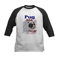Pug Gifts Kids Baseball Jersey