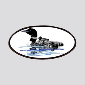 loon with babies Patches
