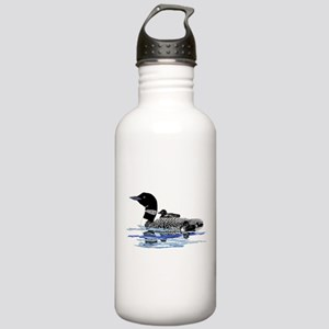 loon with babies Stainless Water Bottle 1.0L