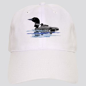 loon with babies Cap