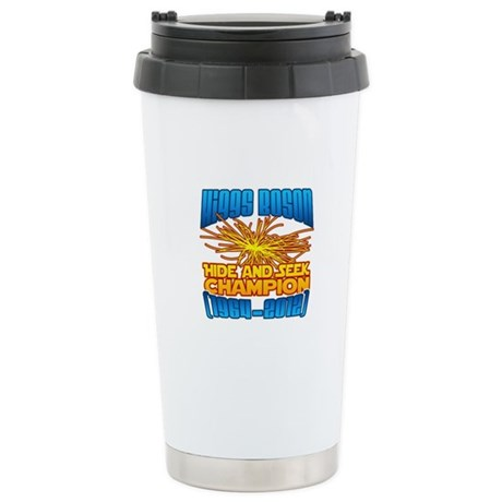 Higgs Boson Stainless Steel Travel Mug