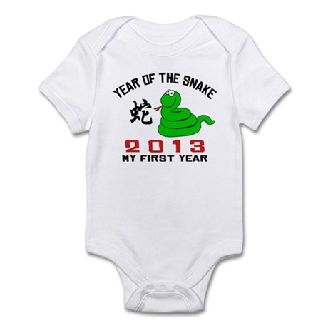 Born Year of The Snake 2013 Baby Infant Bodysuit