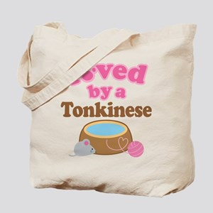 Loved By Tonkinese Cat Tote Bag