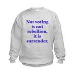 surrender Kids Sweatshirt