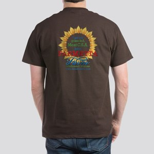 Farmetta Farm Dark T-Shirt front & back prints