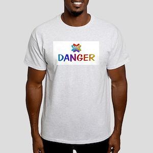 DANGER Membername Ash Grey T-Shirt