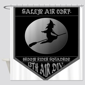 SALEM AIR CORP. Shower Curtain