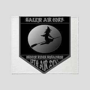 SALEM AIR CORP. Throw Blanket