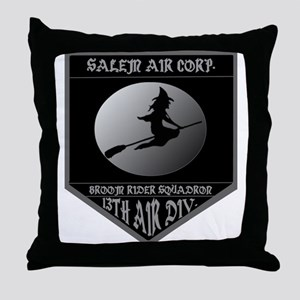 SALEM AIR CORP. Throw Pillow