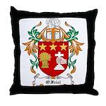 O'Friel Coat of Arms Throw Pillow