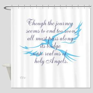 TheEulogyWeb: Holy design #7 Shower Curtain