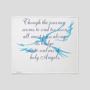 TheEulogyWeb: Holy design #7 Throw Blanket