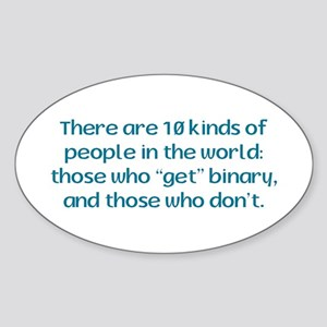 10 Kinds of - Oval Sticker