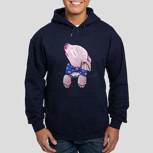Pocket Pig Hoodie (dark)