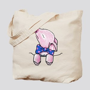 Pocket Pig Tote Bag