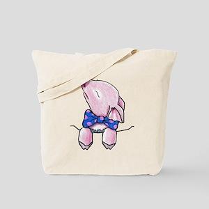 Pocket Pig Tote Bag