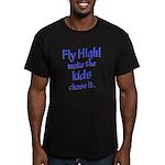 FlyHigh Men's Fitted T-Shirt (dark)