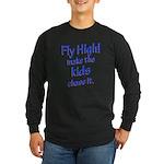 FlyHigh Long Sleeve Dark T-Shirt