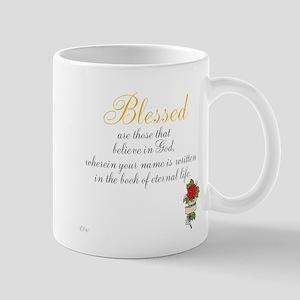 TheEulogyWeb: Blessed design #8 Mug
