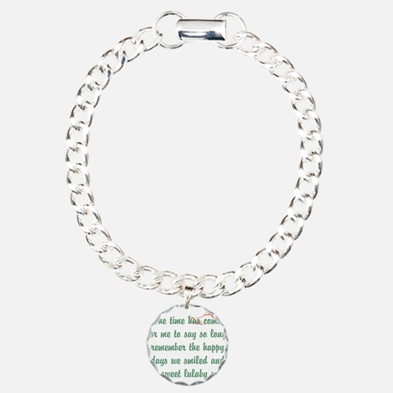 Theeulogyweb Lulaby Song Design 2 Bracelet