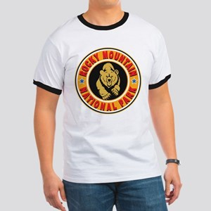 Rocky Mountain Gold Circle Ringer T