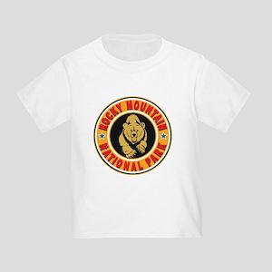 Rocky Mountain Gold Circle Toddler T-Shirt
