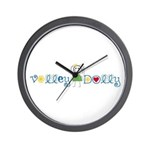 Volley Dolly Wall Clock