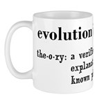 Evolution Definition of Theory Mug