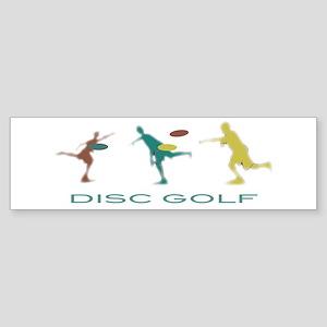 Disc Golf Triple Play Sticker (Bumper)