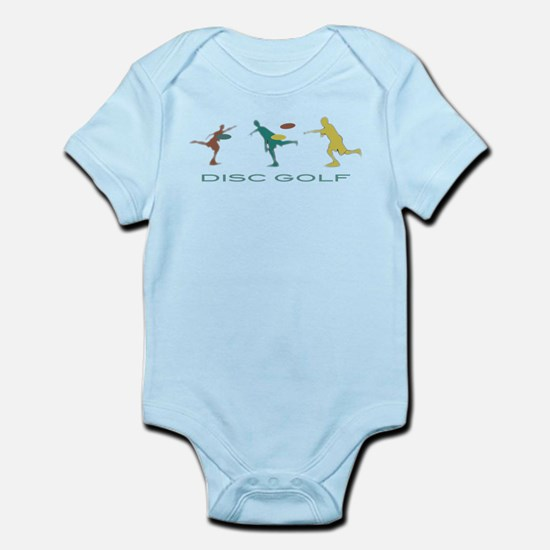 Disc Golf Triple Play Infant Bodysuit