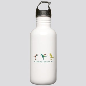 Disc Golf Triple Play Stainless Water Bottle 1.0L