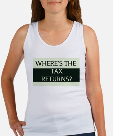Where's the Tax Returns? (Large Version) Women's T