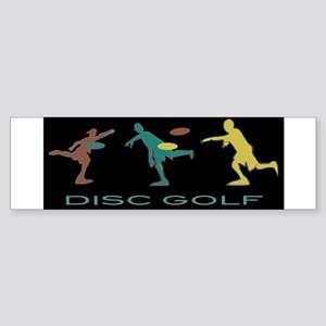 Disc Golf Triple Play 2 Sticker (Bumper)