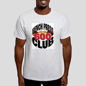 BENCH PRESS 600 CLUB Light T-Shirt