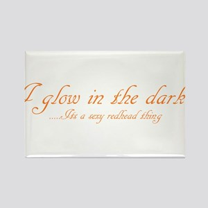 glow in the dark Rectangle Magnet