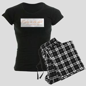 glow in the dark Women's Dark Pajamas