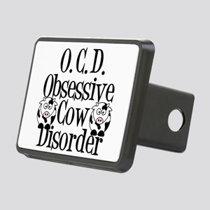 Obsessive Cow Disorder Rectangular Hitch Cover