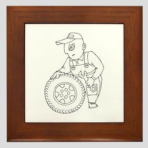 Mechanic Framed Tile
