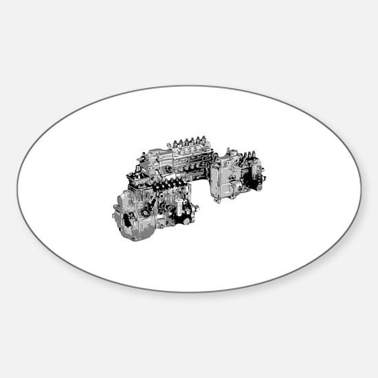 Mechanic Sticker (Oval)