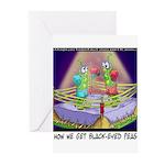 Where We Get Black-Eyed Peas Greeting Cards (Pk of