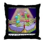 Where We Get Black-Eyed Peas Throw Pillow